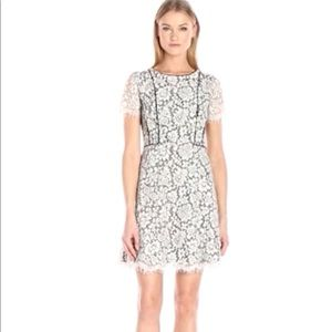 Jessica Simpson two tone lace floral dress NWT 6